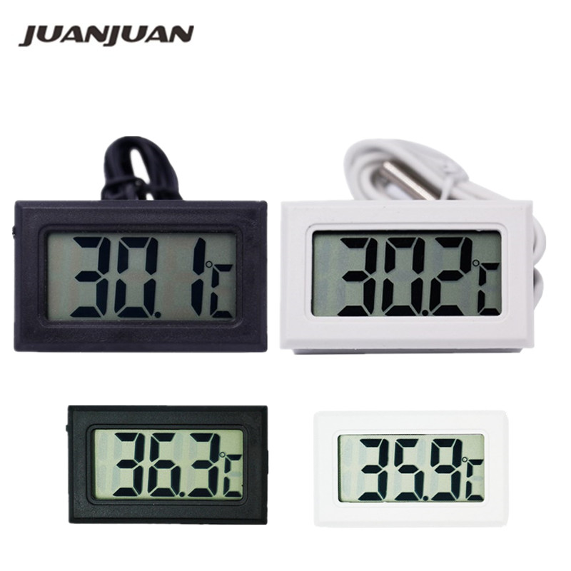 Termómetro digital Frigorífico Congelador Medidor de temperatura 26% de descuento