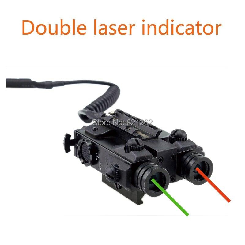 Wildgame GR Double Laser Désignateur 304 cm Taille Laser Spot Dot Sauvage Jeu de Tir Indicateur Vert Rouge Laser Sites