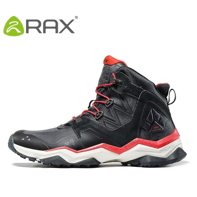 Rax Waterproof Men Snow Boots High Quality Ankle Boots For Men Warm Outdoor Walking Shoes Shoes B2752