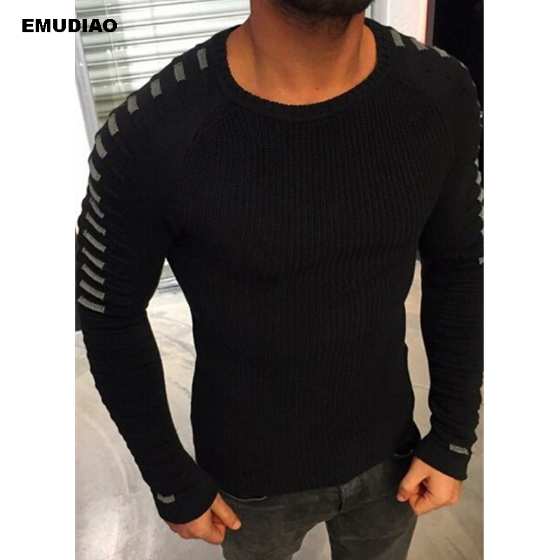 Plus Size Sweater Men Knitted Pullovers For Man Casual Shirt Sueter Invierno Hombre Sweaters 2019 Basic Knitwear Cllothes 3XL