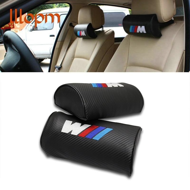 1PCS Car Headrest Neck Safety Pillow For BMW M E46 E90 E60 E39 E36 F10 F30 F20 E30 E34 E87 E91 E92 E83 E70 E53 X5 X3 X1 X6 M3 M5 leahter key holder car styling emblem wallets shell case for bmw m 1 3 5 7 series m3 m5 x1 x3 x5 e34 e36 e38 e39 e46 e30 e92 f30
