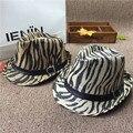 Estilo del verano Dom Niño sombrero Playa sombrero de Paja de Fedora del sombrero flexible panamá Sombrero Chico Chica Gángster Cap Fit For Kids Niños Mujeres hombres
