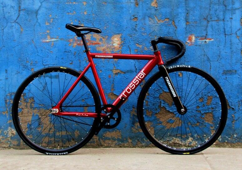 Crosstar tyrans T2 фиксированной Шестерни велосипед городской трек велосипед fixie H плю ...