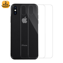 JOYCE 2PCS iPhone X Back Tempered Glass Screen Protector Anti-Scratch Screen Protector for iPhone X XSmax xr back glass film