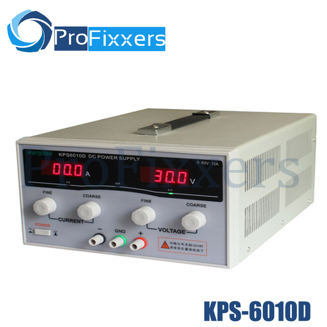 KPS6010D High precision High Power Adjustable LED Dual Display Switching DC power supply 220V EU 60V/10A