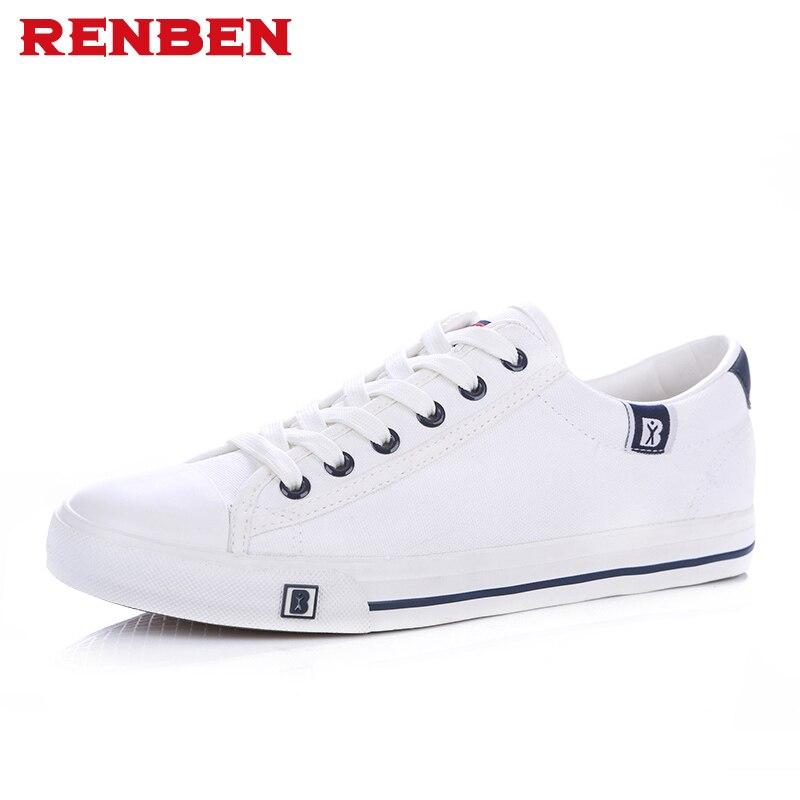 Новое поступление сезон: весна–лето удобная повседневная обувь Для мужчин S парусиновая обувь для Для мужчин Кружево на шнуровке брендовые... ...
