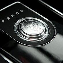Для Jaguar XF XE XJ XJL F-Pace f pace автомобильный Стайлинг АБС хромированный автомобиль Шестерня ручка переключения крышка украшения отделочный стикер новый