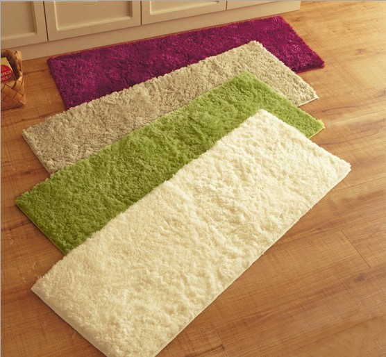 40x120cm Plush Carpet Absorbent Slip Living Room Bathroom