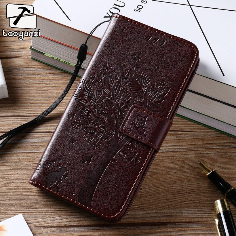 TAOYUNXI чехол для sony Xperia M2 S50H D2303 D2305 D2306 двойной D2302 4,8 дюймов кожаный бумажник телефон чехлы держатель для карт fundas
