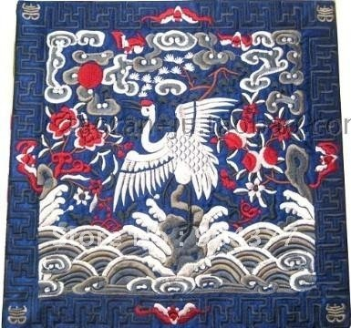 40pcspack Chinese Fabric Square Best Vintage Placemats Embroidered Fascinating Chinese Fabric Patterns