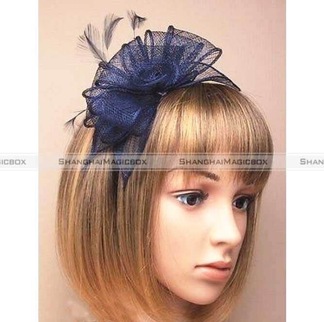 Lady Hair Accessories Stylish Fascinator Wedding Races