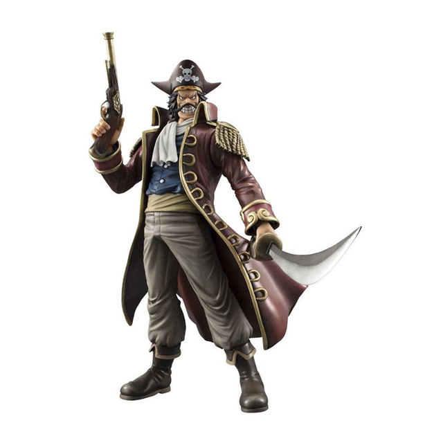 COOL Japanese Anime POP DX One Piece Gol D Roger PVC Action Figure Collectible Model Toy