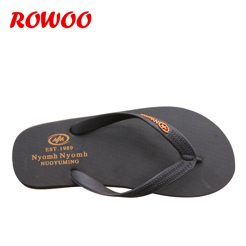 flop De Style En Black Plein Flip brown Flip Casual Sport Plat Impression Chaussures D'été Mode yellow Flops Caoutchouc Hommes Air Simple Sandales EFqFvU