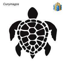 Cunymagos Honu Sea Turtles Fashion Car Styling Vinyl Car Sticker Creativve Motorcycle Auto Car Wall Decal Sticker 12.8cm*13.8cm(China)