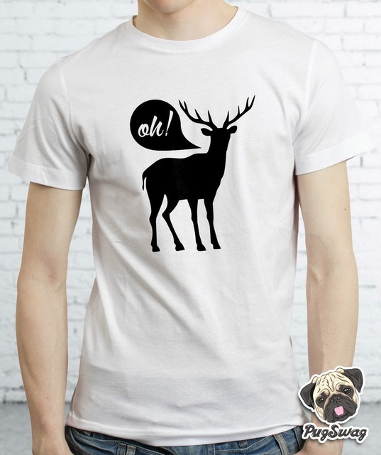 a9a06d9f1797 Oh Deer Designer Graphic Funny Tshirt T shirt Tee Cotton Mens Dear Cool  Funky TShirt Tee Shirt Unisex More Size and Colors