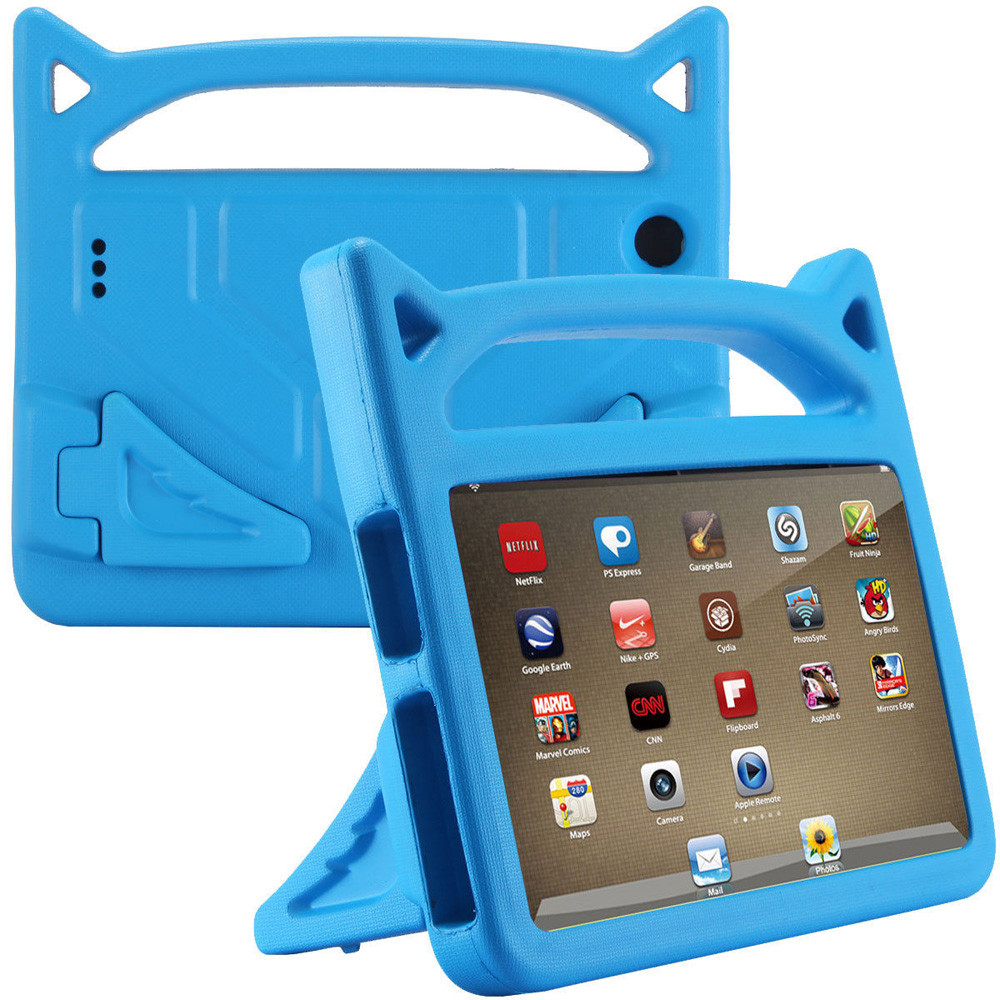 For Amazon Kindle Fire 7 2015/2017 Kids Protective Skin Safe EVA Rubber Handle Stand Tablet Case Cover 7 Inch 20J Drop Shipping
