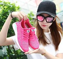 2018 new flying woven couple shoes sports fashion non-slip wear running factory direct sale zapatillas mujer sneaker