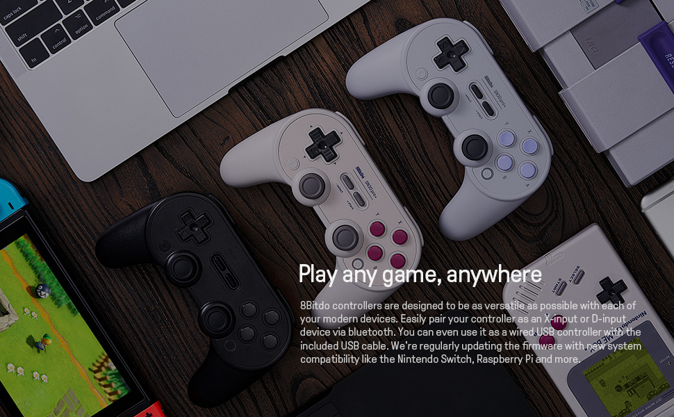 SN30 pro plus Official 8BitDo SN30 PRO+ Bluetooth Gamepad Controller with Joystick for Windows Android macOS Nintendo Switch 20