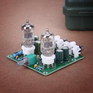 Image 4 - Комплект Усилителя трубки Hi Fi стерео электронная трубка предусилитель Плата усилителя модуль усилителя элементы для усилителя батареи готовый продукт