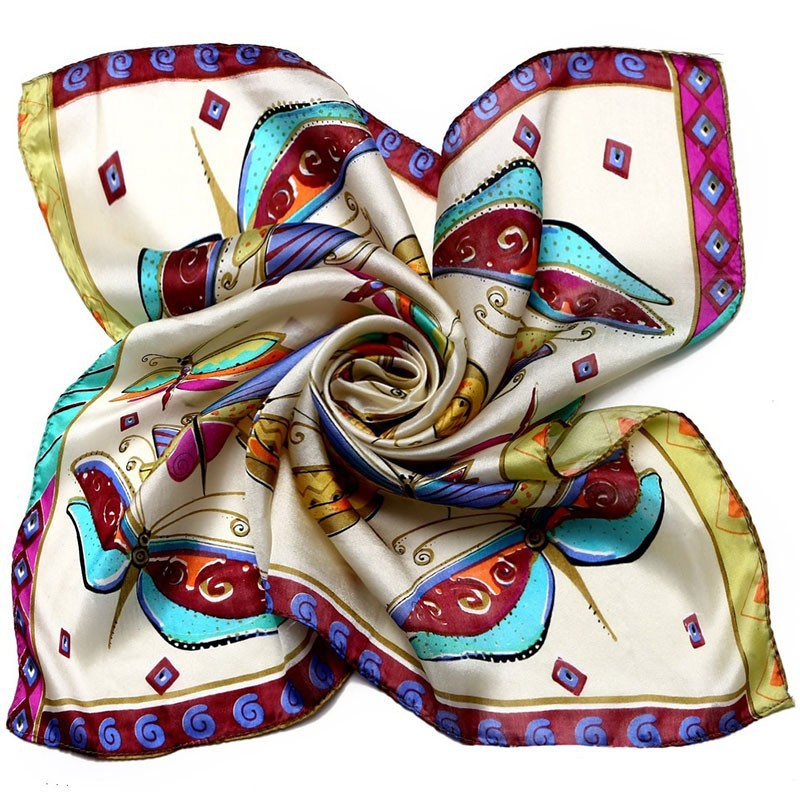 Colorful Butterflies Neckerchief | Bandana Scarves