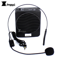 Quality Portable Waistband Loudspeaker With Microphone Voice Amplifier Booster Megaphone Mini Speaker For Teaching Tour Guide