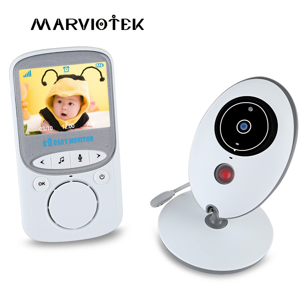 3.5 inch Video Baby Monitor With Camera Wireless Night vision Baby Sleep Nanny Home Security video camera monitor LCD Monitor цена