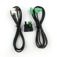 New Arrival Car Accessory AUX Switch Wire Harness Cable Adapter For BMW E87 X5 X6