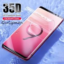 купить New 35D Full Cover Soft Hydrogel Film for Samsung Galaxy J4 J6 Plus A6 A 10 20 30 40 50 60 70 80 90 2019 2018 Screen Protector по цене 64.02 рублей