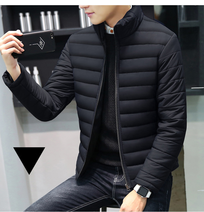 MRMT 2019 Brand Autumn Winter New Men's Jackets Collar Thickened Overcoat for Male Down Cotton Clothes Jacket <font><b>Clothing</b></font> Garment image