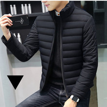 MRMT 2019 Brand Autumn Winter New Men's Jackets Collar Thickened Overcoat for Male Down Cotton Clothes Jacket Clothing Garment