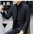 Mrmt 2019 marca outono inverno novos jaquetas masculinas gola engrossado casaco para baixo masculino roupas de algodão jaqueta vestuário