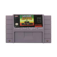 Nintendo SFC SNES Video Game Cartridge Console Card Super Mario All Stars USA English Language Version