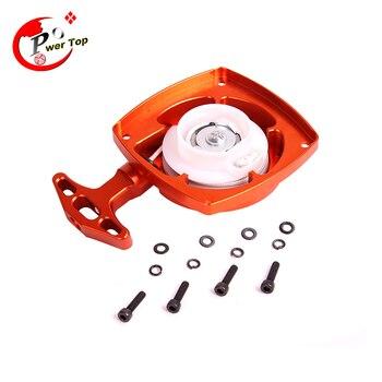 FVITEU CNC metal pull starter(with turbine) for 26cc 29cc 30.5cc engine for 1/5 HPI KM ROVAN baja 5b 5ss 5t
