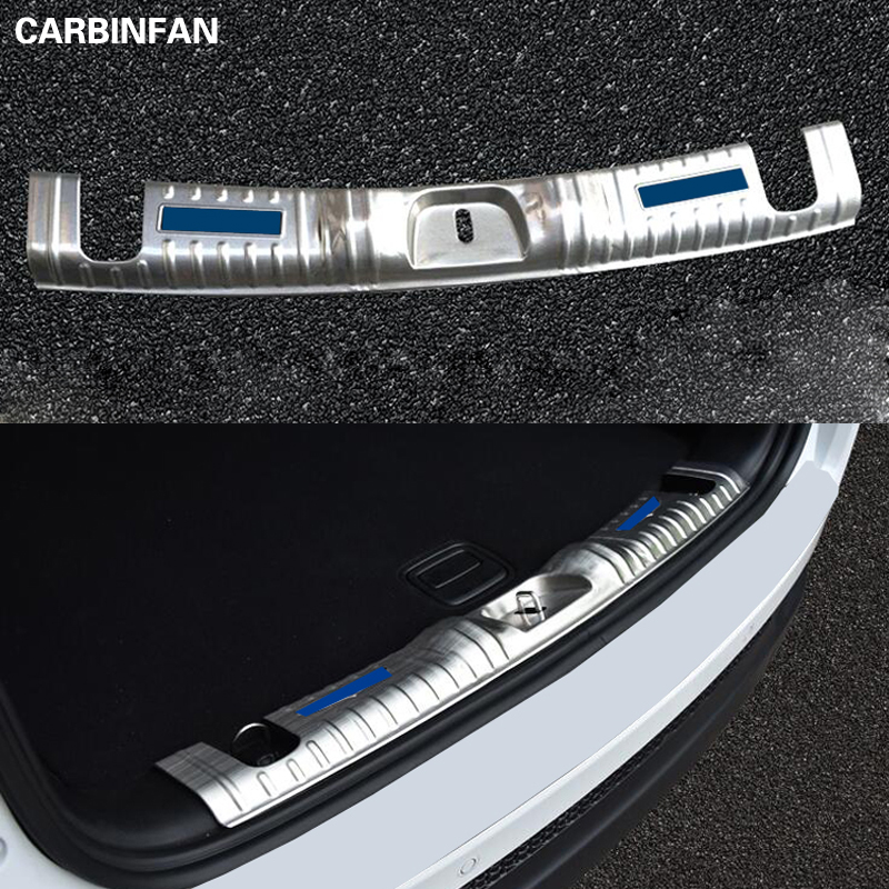 Car Styling Stainless Steel Car Interior Trunk Protector Door Sill Guard Decoration Trim For Jeep Compass