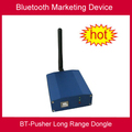 Bt-толкатель long range bluetooth dongle, адаптер (для передачи bluetooth или bluetooth marketing, advertising purpose)