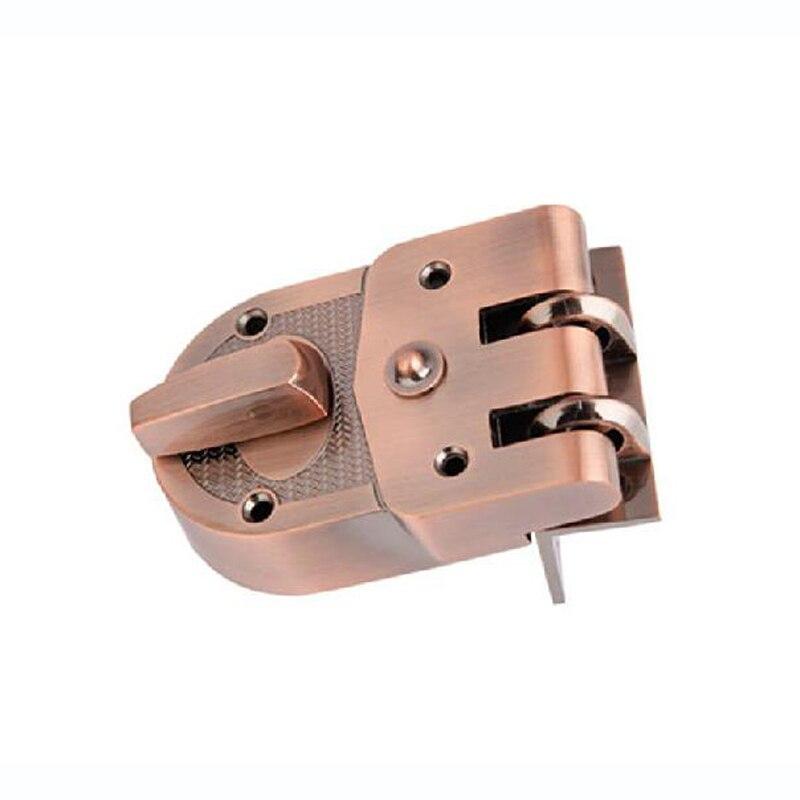все цены на  GULI Mechanical three insurance lockset indoor tigers anti-theft door lock Jimmy Proof Deadbolts H201  онлайн