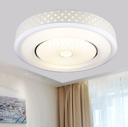 Simple Round LED Creative LED ceiling lamps the living room simple bedroom lamp remote control Ceiling Lights nine ZA FG69 creative star moon lampshade ceiling light 85 265v 24w led child baby room ceiling lamps foyer bedroom decoration lights