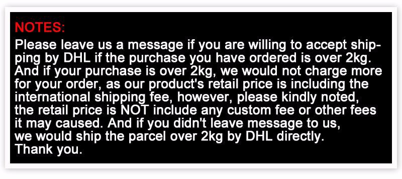 DHL shipping note