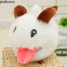 Cute Game League of Legends PUAL LOL Limited Poro Plush Stuffed Toy Figure Doll White Cute Mouse Cartoon Baby Toy
