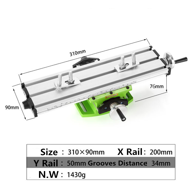Miniature Precision Multifunction Milling Machine Bench Drill Vise Fixture Worktable Mini Multifunction Table, High quality !  electric drill mini miniature ball bearing precision grinding aluminum shell multifunction hand drill