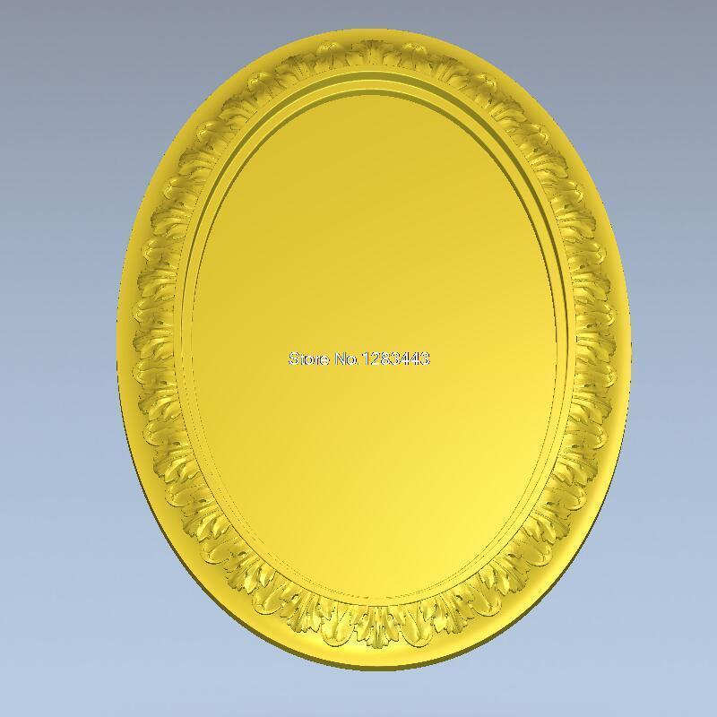 3d Model Design Exclusive Simple Flower Frame Relief For Cnc Machine In STL File Frame_49