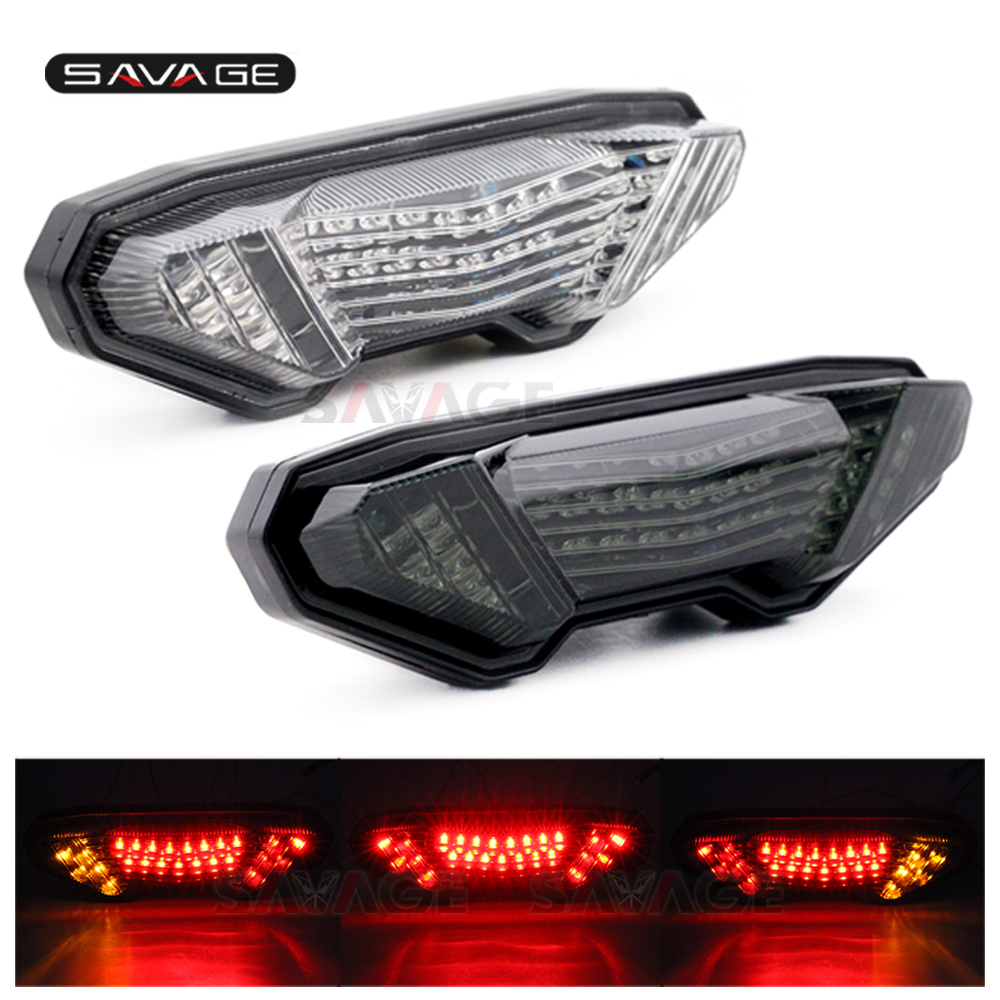 LED Tail Light Turn Signal For YAMAHA MT-09 FZ-09 14-16, FJ-09 MT09 Tracer 900/GT MT10 FZ10 15-20 Motorcycle Integrated Lamp