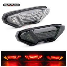 цены на  For YAMAHA MT-09 FZ-09 FZ09 MT09 2014 2015 2016  Motorcycle Integrated LED Tail Light Brake Turn signal Blinker Lamp Smoke  в интернет-магазинах
