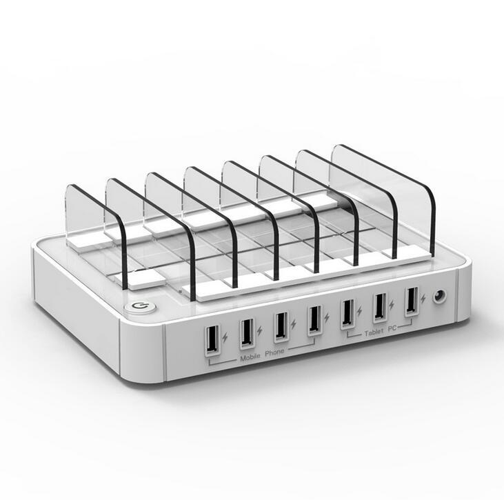 Многофункционална USB зарядна станция - Резервни части и аксесоари за мобилни телефони - Снимка 4