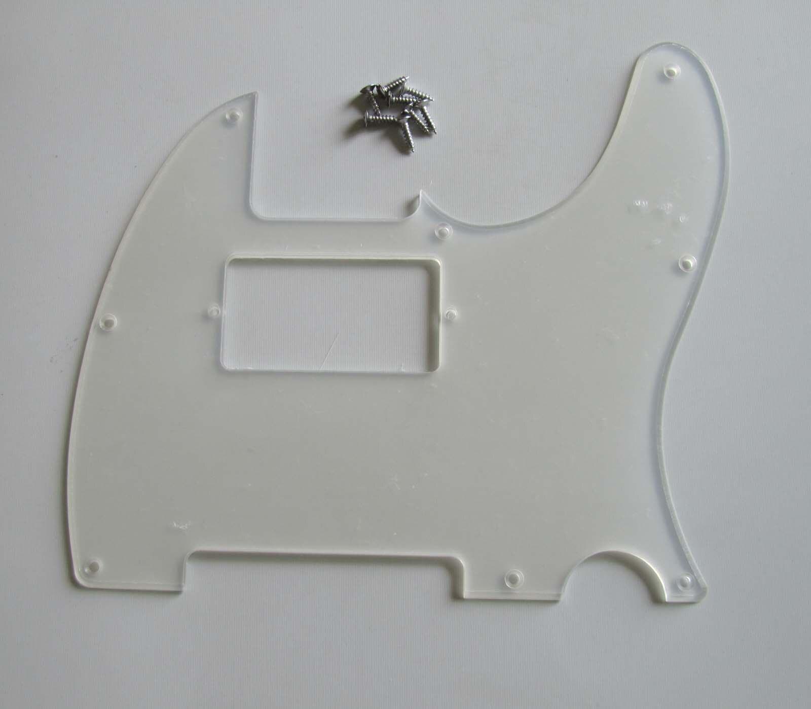 KAISH Transparent TL Humbucker Guitar Pickguard Clear Scratch Plate