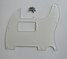 Transparent TL Humbucker Guitar Pickguard Clear Scratch Plate