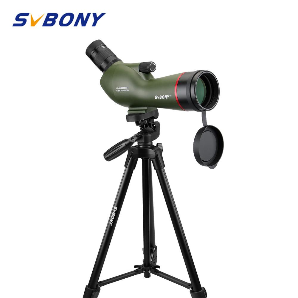 SVBONY SV19 Spotting Scope 15-45x60AE Zoom Telescope Waterproof for Archery Birdwatching FMC +49 Mount F9328GSVBONY SV19 Spotting Scope 15-45x60AE Zoom Telescope Waterproof for Archery Birdwatching FMC +49 Mount F9328G