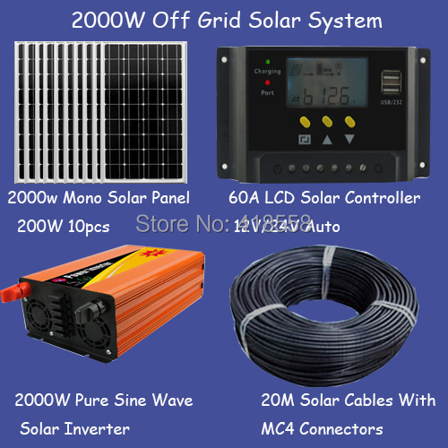 Online Buy Wholesale 2kw solar system from China 2kw solar ...