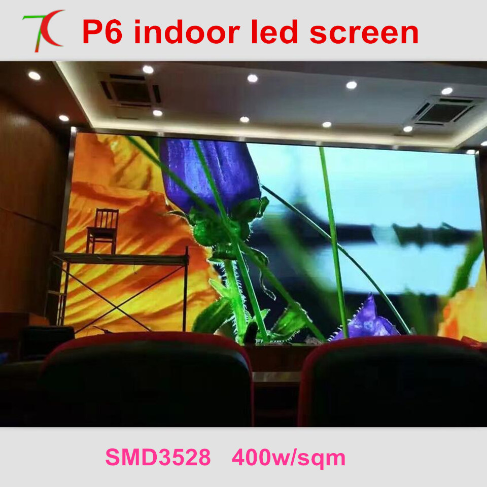 Free Installation Method of P6 full color led video wall for meeting room,multi-media classroom ...