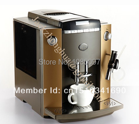 Italian Automatic Coffee Maker : Automatic Italian Espresso Coffee Machine,Latte Coffee Maker+LCD+10 languages function Automatic ...